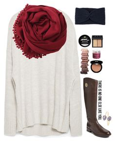 """""""January 31st //"""" by sunglamourandpreppiness ❤ liked on Polyvore featuring Zara, Edward Bess, Urban Decay, Tory Burch, Hat Attack, Sara Happ, Bajra, NARS Cosmetics, Janna Conner and women's clothing"""