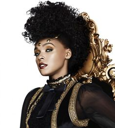 Janelle Monáe's CoverGirl Queen Collection Stay Luscious Lipstick Promo