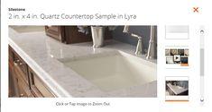 HD Silestone look like marble: Quartz in Pearl Jasmine (not Lyra as filename)