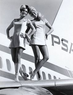 Vintage PSA, a memorable time in California aviation!