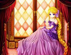 Rapunzel by *Eranthe on deviantART