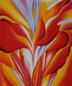 Red Canna - Georgia O'Keeffe