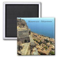 Monemvasia – Peloponnese Refrigerator Magnets