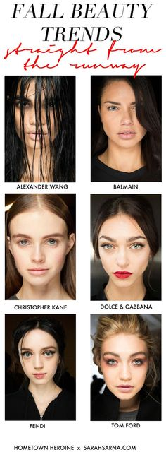 6 Fall Beauty Trends, Straight from the Runway