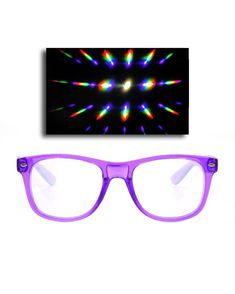 56a7ab67cf Transparent Clear Light Diffraction Glasses - iHeartRaves Rave Wear