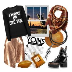 """""""nu Yoins"""" Morning Petersburg by ledile on Polyvore featuring мода, Boohoo, La Fiorentina, Chanel, yoinscollection and loveyoins  LeDiLe, charms, charm bracelet"""