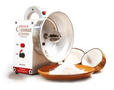 Regnis Electric Coconut Shredder Grater Scraper (A quality Singer Product) #RegnisSinger