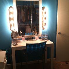 stylish diy makeup vanities ideas photo