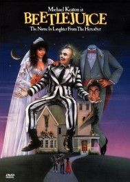 Beetlejuice Movie Poster - Scary Movies for Teens