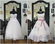 Bridal Style: 50s Style Wedding Dresses