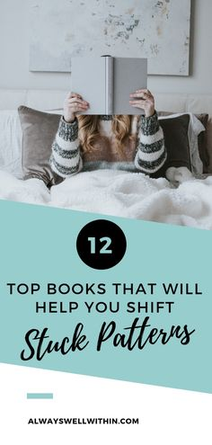 12 Top Books That Will Help You Change Stuck Emotional Patterns — Always Well Within - I've personally selected 12 of the best self-help and personal growth books that will help you ch - Personal Development Books, Self Development, Books A Million, Marriage Relationship, Emotional Healing, Self Discovery, Life Motivation, Best Self, Infj