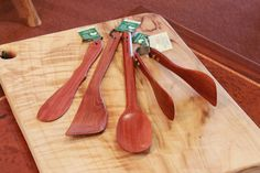 Gift Bundle: The Basic Kitchen Utensil Set | Australian Woodwork - FREE Gift Wrapping - FREE Handwritten Gift Card - Fast Same Day Shipping - FREE Shipping for orders over $100 - Our usual Money Back Quality Guarantee!