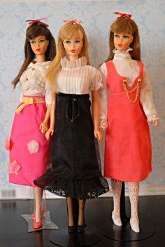 Vintage Twist n Turn Barbies