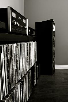 Mcintosh audio w/ B and W speakers and Vinyl records: My ultimate sound!