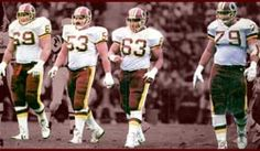 The Hogs was the nickname for the offensive line of the Washington Redskins of the National Football League during the 1980s and early 1990s. Renowned for their ability to control the line of scrimmage, the Hogs helped the Redskins win three Super Bowl championships (XVII, XXII and XXVI) under head coach Joe Gibbs and O line coach Joe Bugle