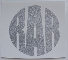 Glitter Monogram Car Decal 4 inch by TwoThirtyFiveDesigns on Etsy, $9.00
