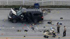 The female shooter in the San Bernardino, California massacre, Tashfeen Malik, pledged allegiance to Islamic State leader Abu Bakr al-Baghdadi in a Facebook post immediately before the attack, officials told several news organizations.