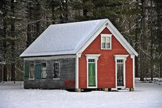 Wisconsin One Room Schoolhouse | one room school house spotted this one room school house near the ...