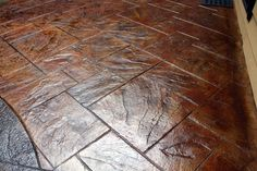 CMDT Systems - Decorative Stamped Concrete Patios in Vancouver, Lower Mainland Diy Concrete Stain, Acid Stained Concrete, Concrete Color, Painting Concrete, Stamped Concrete, Concrete Wall, Concrete Patios, Concrete Patio Designs, Paint Colors