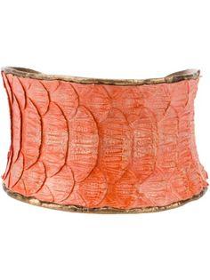 Python Skin Cuff from Tess Van Ghert