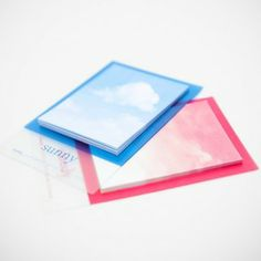 Sky Sticky Notes by Poketo on #Fancy