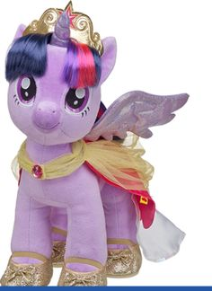 my little pony build a bear my little pony's spike and twilight sparkle! My Little Pony Party, My Little Pony Princess, My Little Pony Birthday, Build A Bear Gifts, My Little Pony Collection, Purple Animals, Princess Twilight Sparkle, Little Poney, Gift Card Giveaway