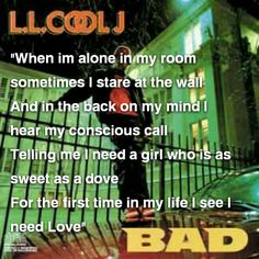 I need Love by LL cool J