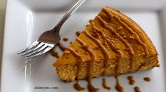 Pumpkin Cheesecake is a serious crowd pleaser!  A cross between pumpkin pie and cheesecake is a cross between two favorite desserts :-)  #pumpkin #desserts #cheesecake