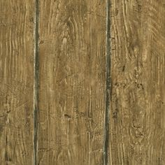 """Outdoors Rodeo Outhouse Wall 33' x 20.5"""" Wood 3D Embossed Wallpaper"""