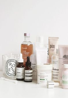 amazing skincare products and brands | Morning and Night routines
