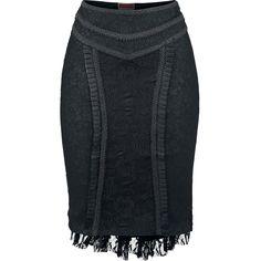 Skirt, Black Roses, Jawbreaker - Sweden Rock Shop, 499 SEK (ruffle back, low)