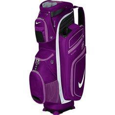 Nike Ladies M9 Cart II Golf Bags - Bright Grape/White/Violet Shade
