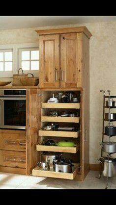 Nice kitchen storage