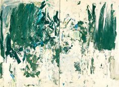 Cypresses (diptych)