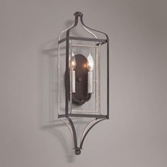 "Astrapia 22"" High Dark Rubbed Sienna 2-Light Wall Sconce - #8K482 