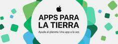 Apple celebra con nosotros el Día del Planeta Tierra, ofreciendo aplicaciones, libros y contenido ambientalista en todas sus plataformas.