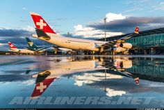 Swiss International Airlines Airbus A340-313 (Airliners.net)