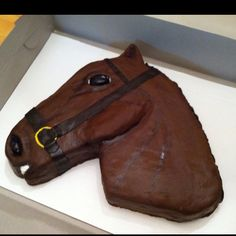 Horse cake I made for a birthday 2012