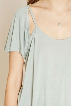 Contemporary Cutout Top | Forever 21 - 2000222449
