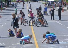 A long stretch of King Street in downtown Waterloo will be closed to all vehicles on four Sunday afternoons this summer for Open Streets.