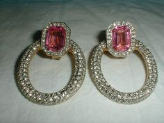 valentino earrings vintage by qualityvintagejewels on Etsy, $450.00