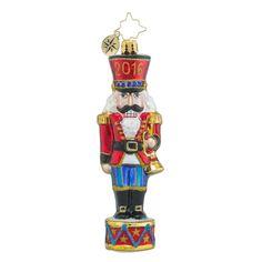 "Christopher Radko Nutcracker Ornament - ""Nuts about Christmas"""