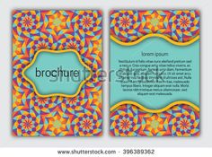 #Brochure #cover #template. #Booklet, #brochure, #card, #book cover layout #design.