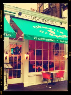 crémerie creperie. south kensington, london, england. great crepes & great memories!