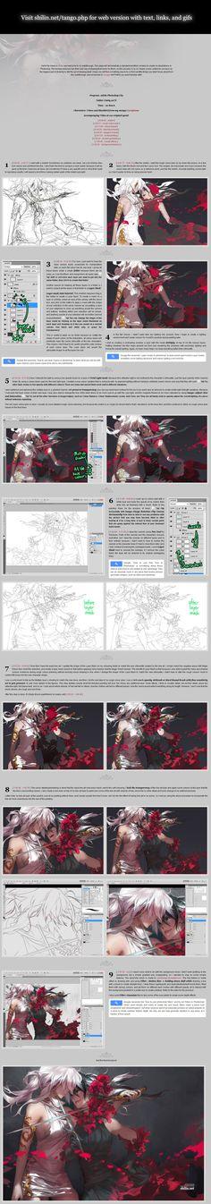 2013 Shilin's drawing tutorial/walkthrough by shilin.deviantart.com on @deviantART http://shilin.net/tango.php