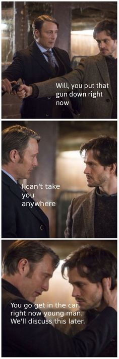 Haha you're in trouble mister. #Hannibal