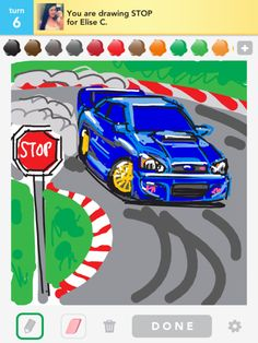 Subie. Draw Something app. Amazing.