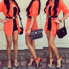 Spring fashion && colors!