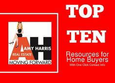 Top 10 Resources for Home Buyers Home buying is a collaborative effort between the buyers and their Realtor, attorney, lender,inspector, and many other resources. It can be overwhelming for buyers. Amy breaks it down and offers contact info for these key resources she has used on past transactions to make your purchase seamless. - made with simplebooklet.com