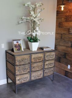 FREE SHIPPING - 9 Drawer ZORIA Crate Dresser | Vintage Wood Crates & Reclaimed Barn Wood | Custom Furniture by TheCratePeople on Etsy https://www.etsy.com/listing/226151783/free-shipping-9-drawer-zoria-crate
